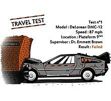 Travel Test Photographic Print
