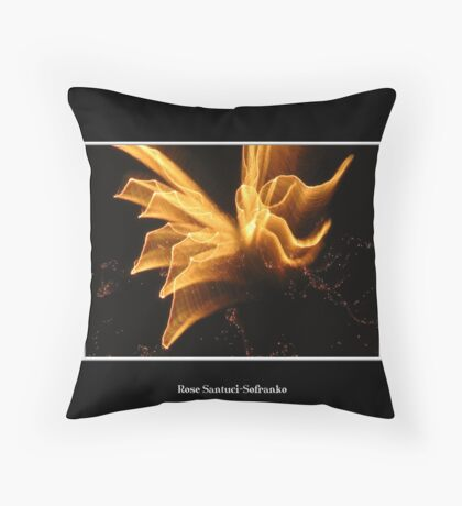 Fireworks: Angel in the sky Throw Pillow