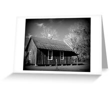 Carrabelle One Room Schoolhouse, Greenville, FL Greeting Card