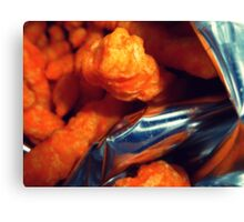 04-17-11: Cheeto Fiend Canvas Print
