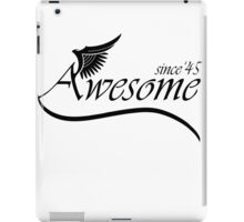 Awesome Since 1945 iPad Case/Skin