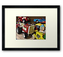 Ah good old toys Framed Print