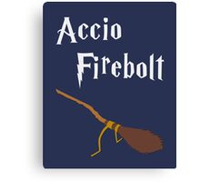 Accio Firebolt Canvas Print