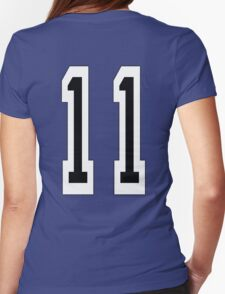 11, TEAM SPORTS NUMBER 11, Eleven, Eleventh, Competition T-Shirt