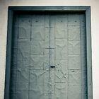 Green Metal Door, Fredericksburg, Virginia by Stephen Graham
