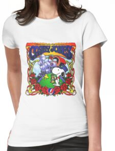 riding that train! Womens Fitted T-Shirt