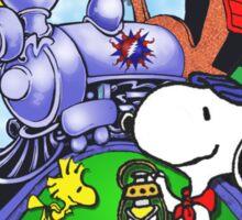 riding that train! Sticker
