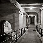 Under Train Station, Fredericksburg, Virginia by Stephen Graham