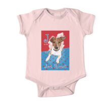 J is for Jack Russell One Piece - Short Sleeve