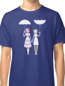 Girl un Girl - In/Out Umbrella (Large Print) Classic T-Shirt