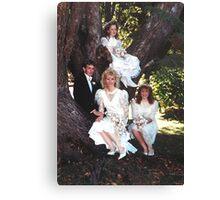 Bridal Tree Canvas Print