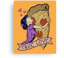 True Love <3 Canvas Print