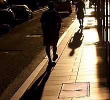 Flinders Lane - Melbourne by Timo Balk