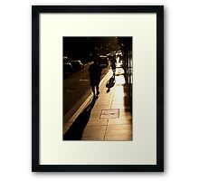 Flinders Lane - Melbourne Framed Print