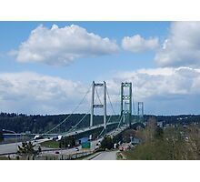 Tacoma Narrows Bridges Photographic Print