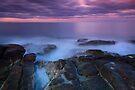 Misty Rocks by Wojciech Dabrowski