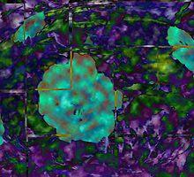 Rose Bush Abstract by Charldia