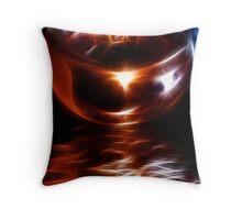 Bronze Candlelight Throw Pillow