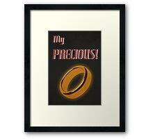 My Precious! Framed Print