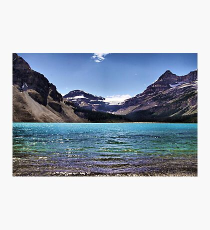 From the Shore of Bow Lake Photographic Print