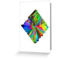 Color Blaster By Jonathan Green Greeting Card