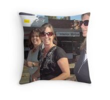 Marching with the children Throw Pillow