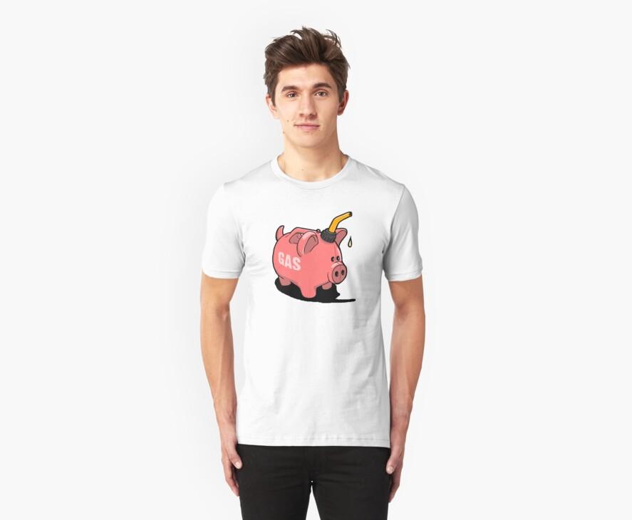 Gas Piggy  by Kirk Shelton