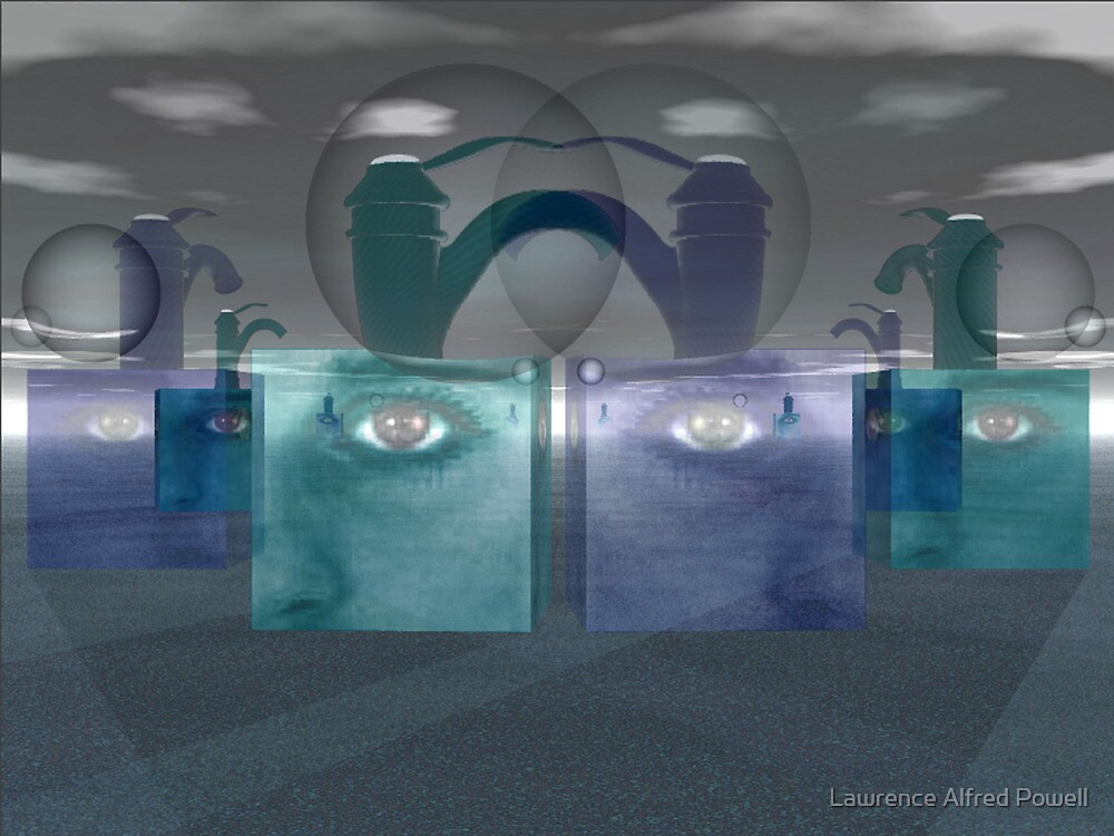 Simultaneously existent holographic realities  by Lawrence Alfred Powell