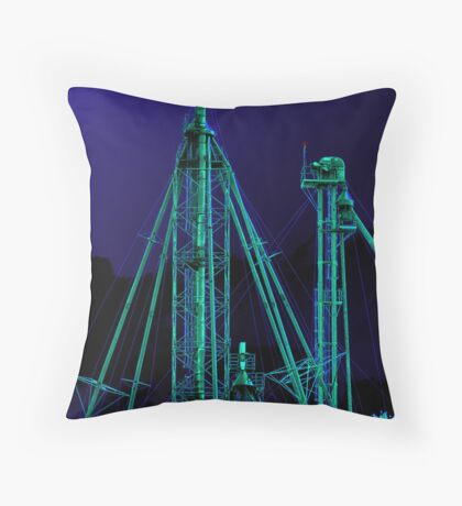 Complex ~ Glow Throw Pillow