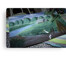 A Cajun Swamp Scene Canvas Print
