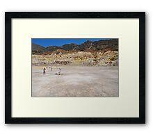 Stefanos volcano, Nisyros Framed Print