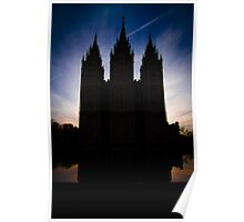 An Evening at Temple Square - 2 Poster