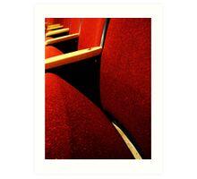 Theatre Seats  Art Print
