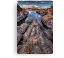 Rock Stretch Canvas Print