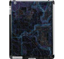 USGS Topo Map Oregon Barnes Valley 278943 2004 24000 Inverted iPad Case/Skin