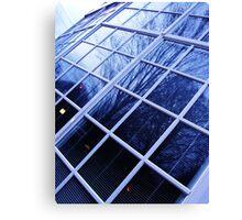 Glass Literature Canvas Print