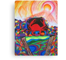 The Crab - Influence of Affluence Canvas Print