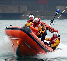 Brighton Lifeboat by Clive Reedman