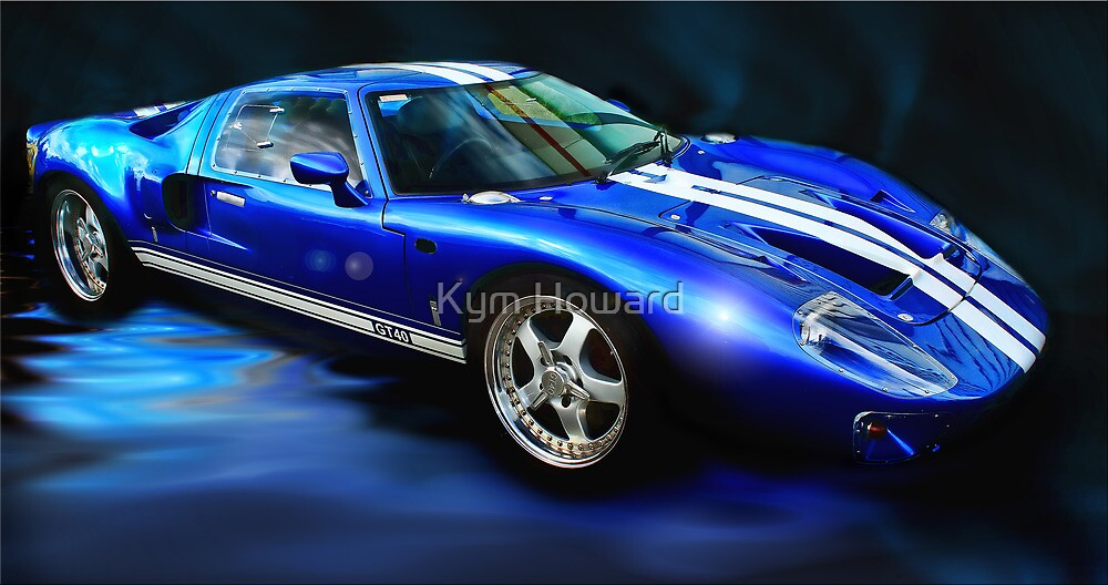 Aurora Blue by Kym Howard