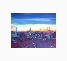 Munich Rooftop View At Sunset Unisex T-Shirt