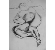 Sleeping Nude Photographic Print