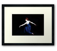 And She Danced Framed Print
