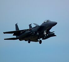 F15 Strike Eagle - RAF Lakenheath UK by Craig Stronner