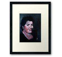 Claudette Entertainer Framed Print