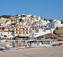 Skopelos Town, Greece by David Fowler