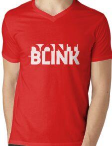 Don't Blink Exclusive Mens V-Neck T-Shirt