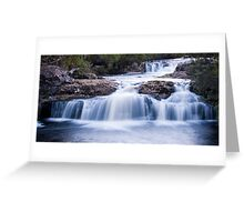 Cradle Mountain Falls Greeting Card