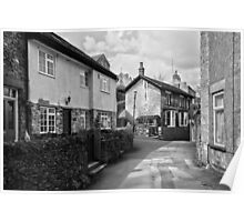 Village Cottages, Castleton Poster