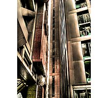 Steel Lines (HDR) Photographic Print