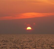 Malaysian Sunset by dozzam